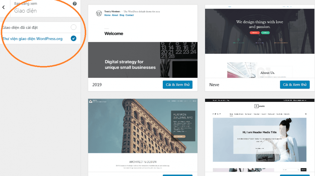 Hướng dẫn 2 cách cài đặt Theme WordPress giống demo cho Newbie 1 Hướng dẫn 2 cách cài đặt Theme WordPress giống demo cho Newbie