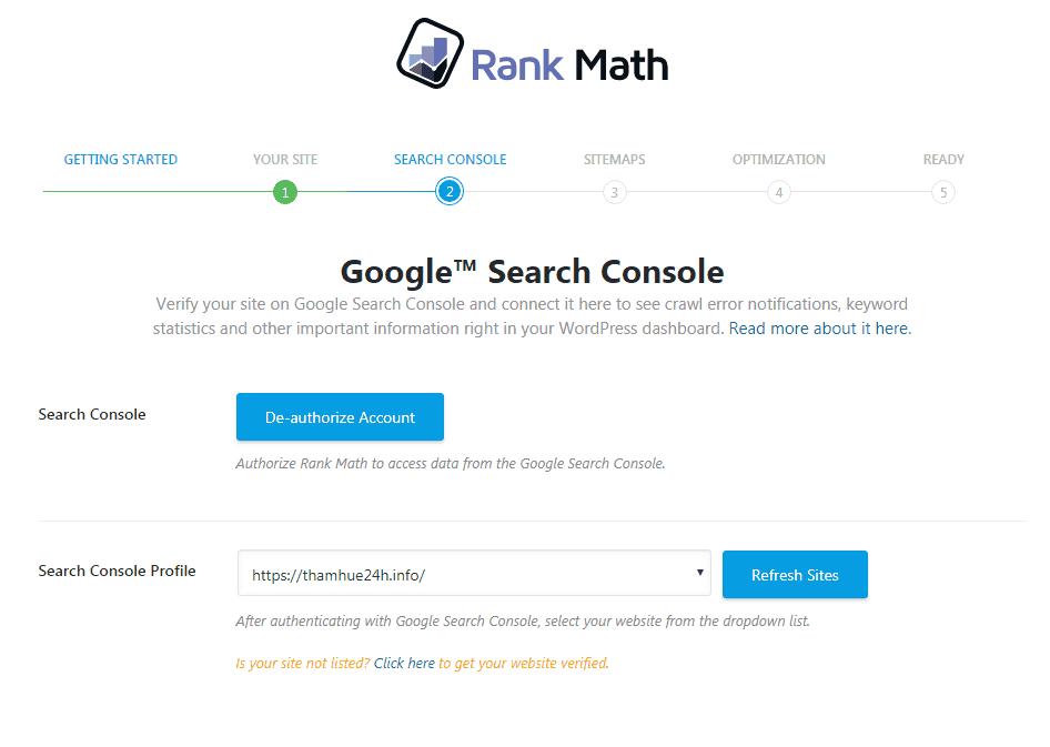 hướng dẫn thiết lập plugin rank math seo 4