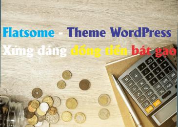 Flatsome – Theme WordPress bán hàng Chuẩn Seo, Nhanh và Nhẹ