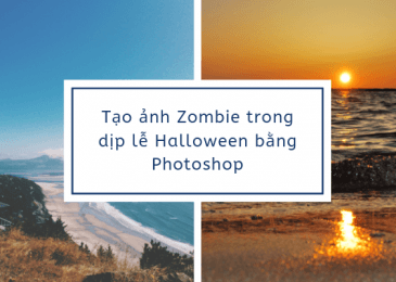 Các bước Tạo ảnh Zombie trong dịp lễ Halloween bằng Photoshop